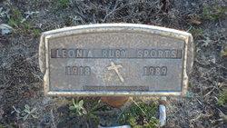 Leonia Ruby <I>Phillips</I> Sports