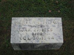 Martha Lucretia Tilton