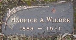 Maurice Alton Wilder