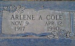 Arlene Adaline <I>Conner</I> Cole