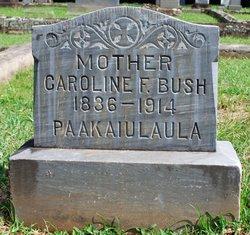 """Caroline Paakaiulaula """"Carrie"""" <I>French</I> Bush"""