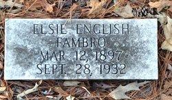 Elsie <I>English</I> Fambro