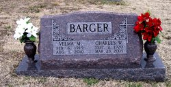 Velma Minnie <I>Van Horn</I> Barger