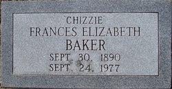 "Frances Elizabeth ""Lizzie"" <I>Ballard</I> Baker"