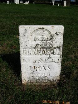 Hannah M Irons