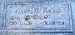 Charles K Barnum
