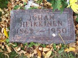 """Johan """"Little John"""" Heikkinen, II"""
