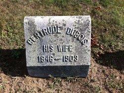 Gertrude <I>DuBois</I> Oakley