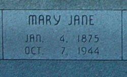 Mary Jane <I>Davis</I> Anderson