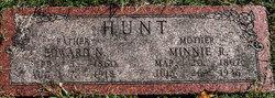 Minnie R <I>Scott</I> Hunt