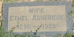 Ethel <I>Kleble</I> Ashbridge