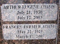 Frances Idella <I>Farmer</I> Adams