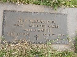 D L Alexander