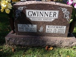 "Olive Rosemary ""Rosemary"" <I>Yates</I> Gwinner"