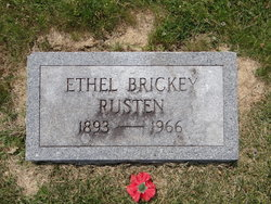Ethel Lee <I>Brickey</I> Rusten