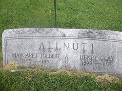 Margaret <I>Tolbert</I> Allnutt