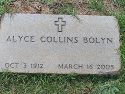 Alyce <I>Collins</I> Bolyn