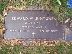 Edward W Juntunen