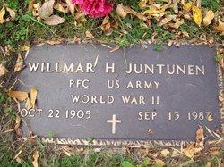 Willmar Henry Juntunen