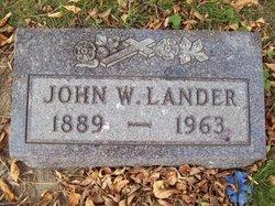 John William Lander
