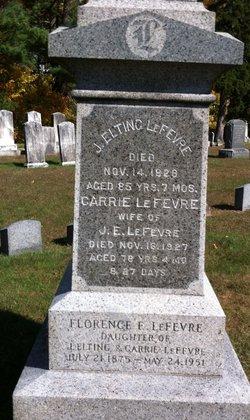 Florence E LeFevre