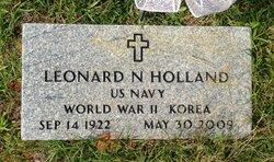 Leonard Nolan Holland