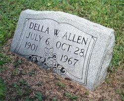 Della W <I>Webb</I> Allen