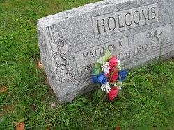 """Matthew Knickerbocker """"Matt"""" Holcomb"""