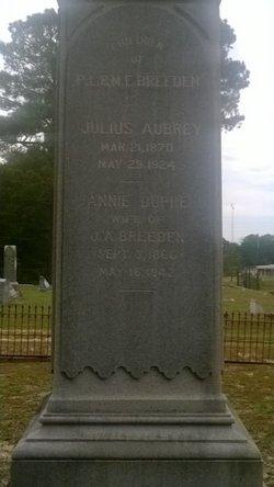 Annie <I>DuPre</I> Breeden