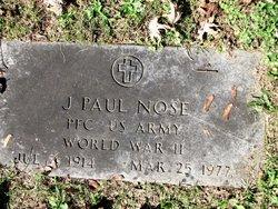 PFC J Paul Nose