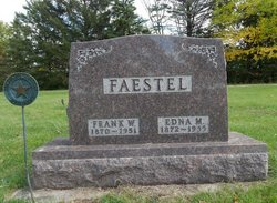 Edna M <I>Parsons</I> Faestel