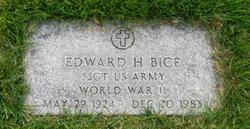 Edward H Bice
