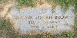 Wayne Josiah Brown