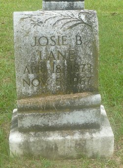 "Josephine ""Josie"" <I>Brannen</I> Lane"
