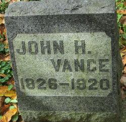 Rev John Henderson Vance