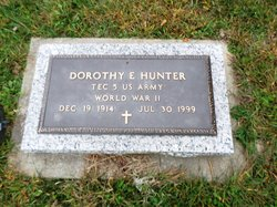 Dorothy Edna <I>Shackelford</I> Hunter