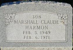 Marshall Claude Harmon