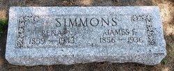 Rena <I>Morgan</I> Simmons