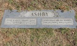 Vera Elizabeth <I>Pemberton</I> Ashby