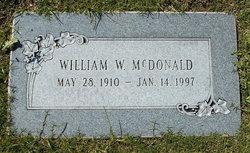 William W McDonald