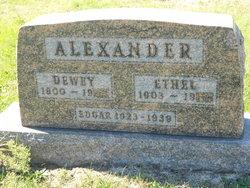 Edgar H. Alexander