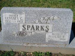 Beulah <I>Williams</I> Sparks