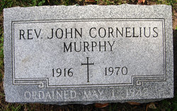 Rev John Cornelius Murphy