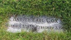 Harvey Earl Cox
