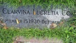 Clarvina Lucretia Cox
