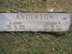 Odessa W Anderson