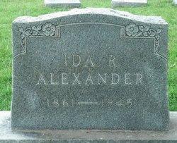 Ida Jessie R. <I>Welch</I> Alexander