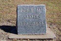 Bert M. James