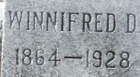 Winifred Delila <I>Snyder</I> Gilliland