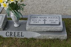 Edna Marie <I>Poston</I> Creel